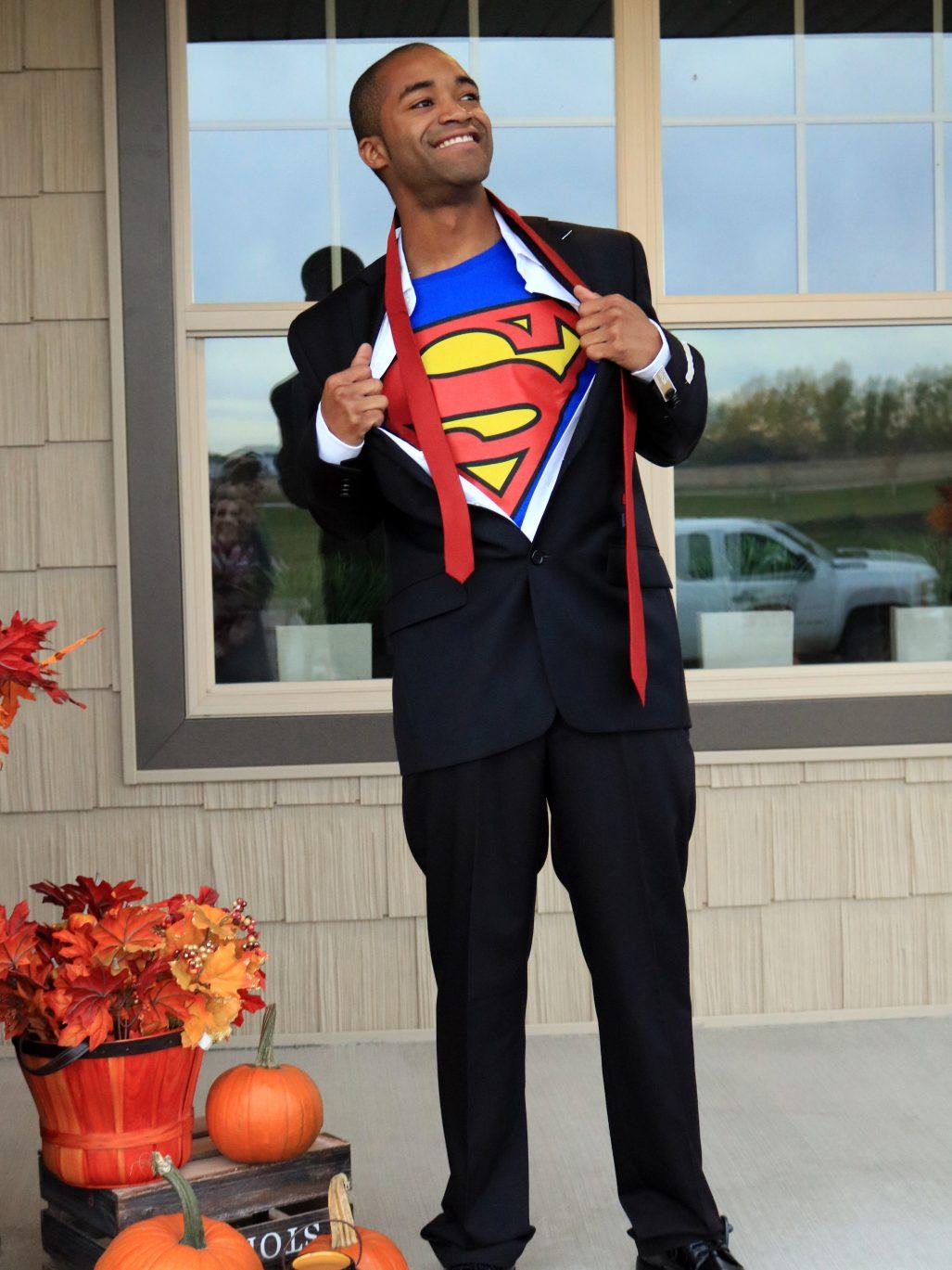 Clark Kent as Superman  sc 1 st  West Acres Blog & Unique DIY Halloween Costumes to Wear Now u0026 Later - The Watch
