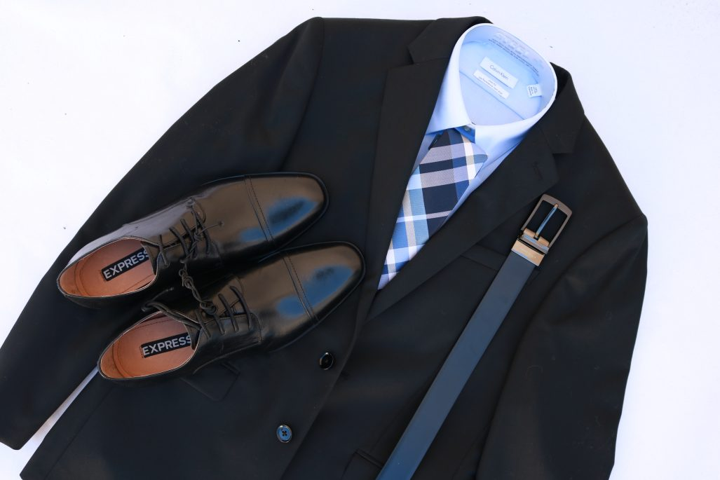 Matching Men's Suits And Shoes